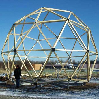 Geodätische Kuppel referenzen conbam der bambus spezialist