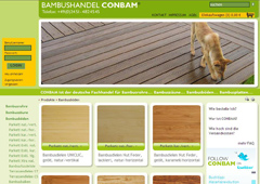 Bamboo Materials Conbam Der Bambus Spezialist